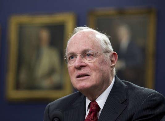 Anthony Kennedy, juge suprême qui a joué un rôle clé dans la reconnaissance du mariage homosexuel aux Etats-Unis.