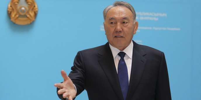 Noursoultan Nazarbaïev a été réélu président du Kazakhstan avec 97,5 % des voix le 26 avril.
