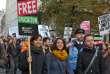 Manifestation à Londres contre la hausse des frais d'inscription à l'université.