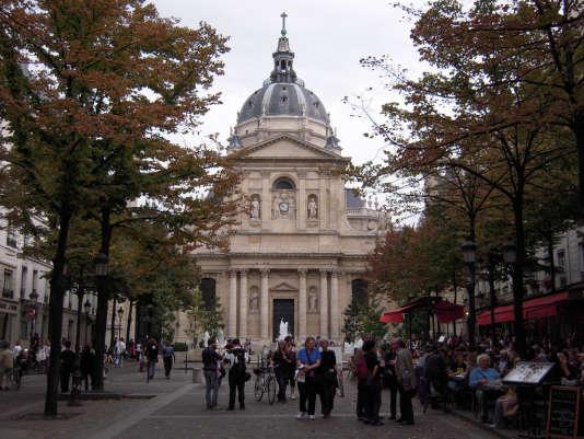 L'université la Sorbonne, à Paris.