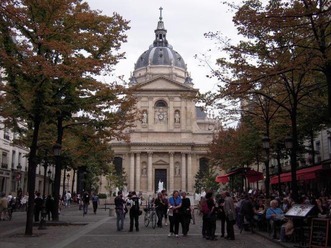 L'université de Paris-Sorbonne.
