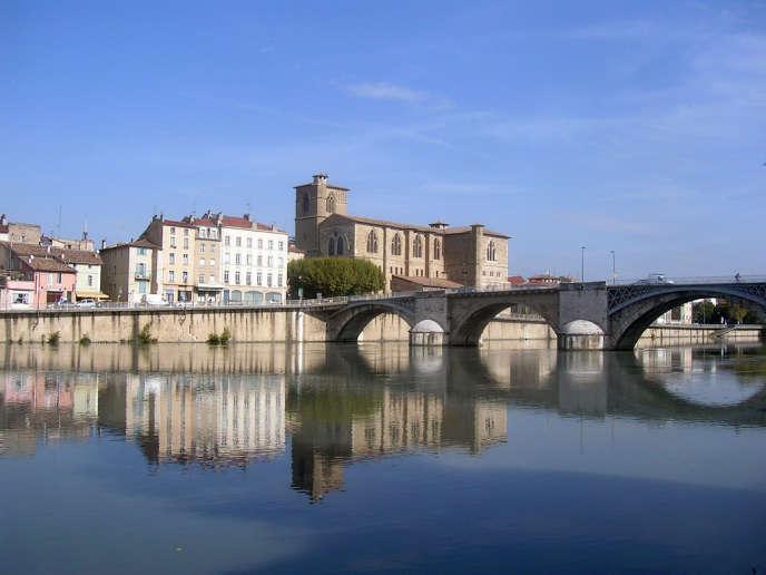La ville de Romans-sur-Isère.
