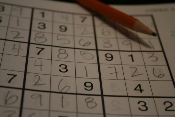 Grille de Sudoku.
