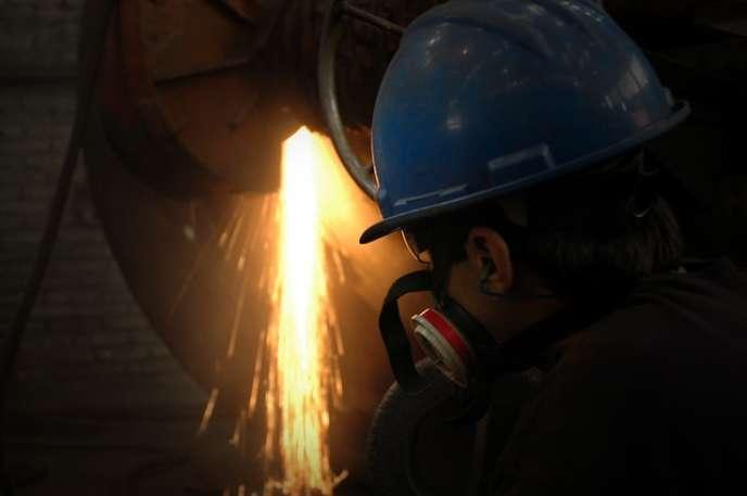 Métier dans la filière de l'industrie-métallurgie.