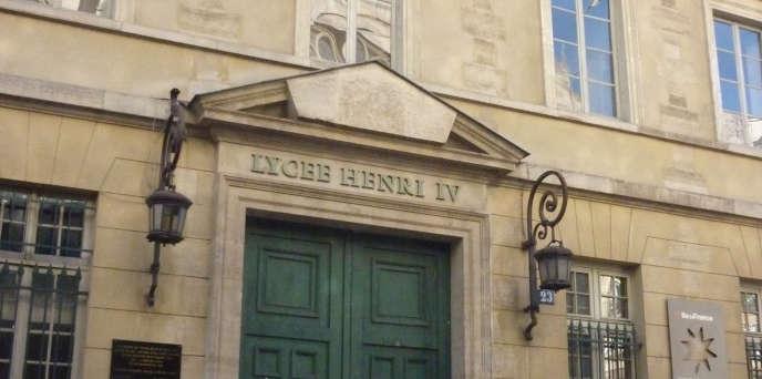 Le lycée Henri IV, à Paris, le 15 janvier 2012.