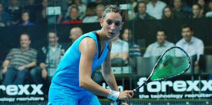 Camille Serme, le 24 septembre 2009.