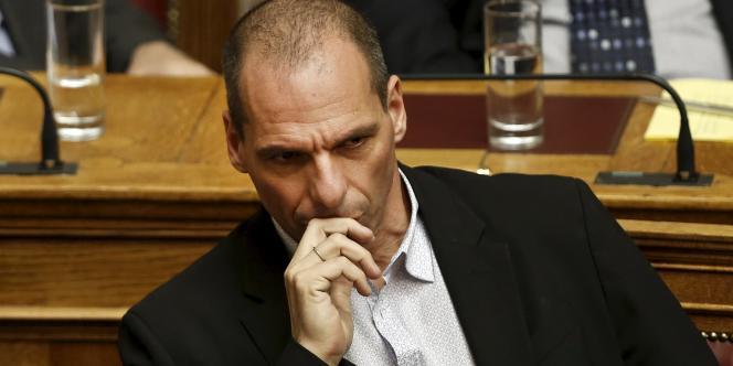 Yanis Varoufakis, le 30mars à Athènes.