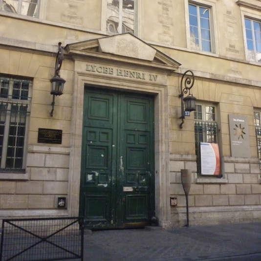 Le lycée Henri-IV, à Paris.