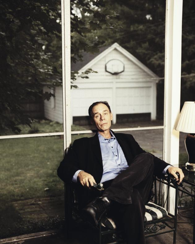 David Carr chez lui à Montclair, dans le New Jersey, en 2007.