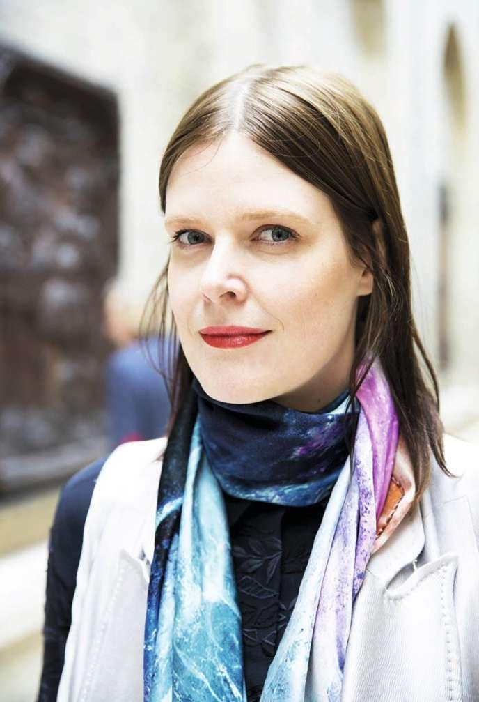 Lenne Wierzba, commissaire de l'exposition