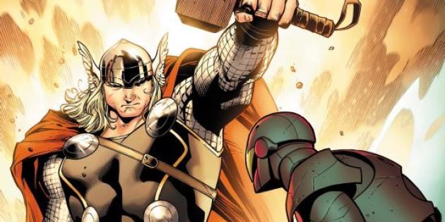 La nouvelle armure de Thor a été dessiné par un Français.