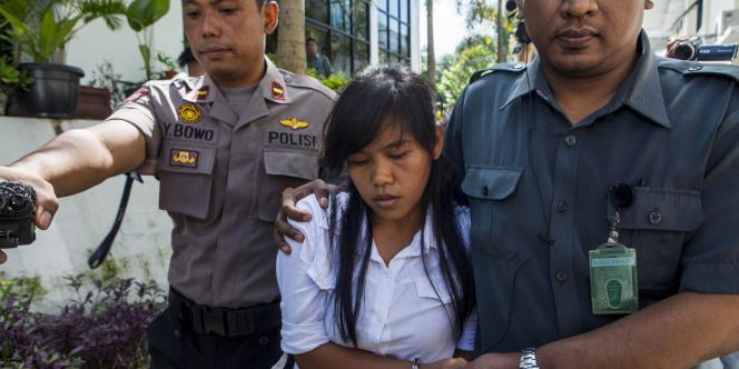 Issue d'une famille pauvre des Philippines, Mary Jane Veloso, 30ans, avait été arrêtée en2009 à l'aéroport de la ville de Yogyakarta, sur l'île de Java, avec 2,6kg d'héroïne.