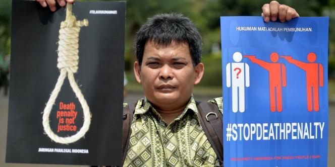 Condamnées pour trafic de drogue, neuf personnes ont été exécutées le 29avril. Après plusieurs années d'un moratoire de fait, l'Indonésie a repris les exécutions depuis le début d'année.