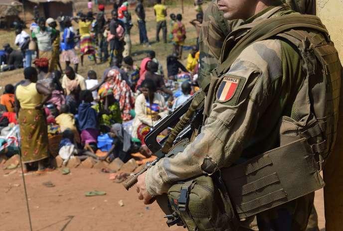 La force «Sangaris» de l'armée française a été déployée en 2013 en Centrafrique alors en proie au chaos après des violences entre rebelles musulmans, les Séléka, et miliciens chrétiens, les anti-balaka.