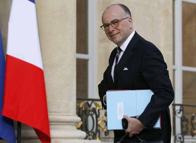 Le ministre de l'intérieur, Bernard Cazeneuve, le 29 avril à l'Elysée.