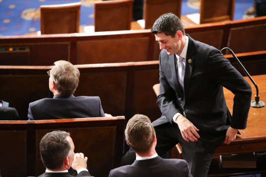 Paul Ryan, le 29 avril 2015 à Washington.