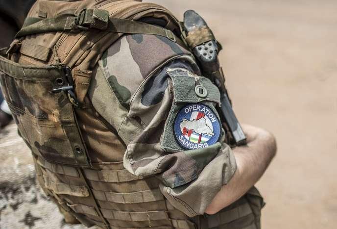 Un soldat français de l'opération Sangaris en juin à Bangui.