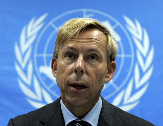 Anders Kompass, directeur des opérations de terrain au Haut-Commissariat de l'ONU pour les droits humains, en 2006.