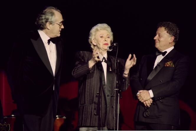 La chanteuse Henriette Ragon, plus connue sous le nom de Patachou, est morte jeudi 30 avril à l'âge de 96 ans.