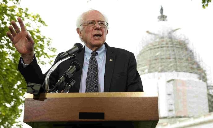 Le candidat à l'investiture démocrate Bernie Sanders a pour l'instant une chance infinitésimale de l'emporter face à la puissance de feu de Hillary Clinton.