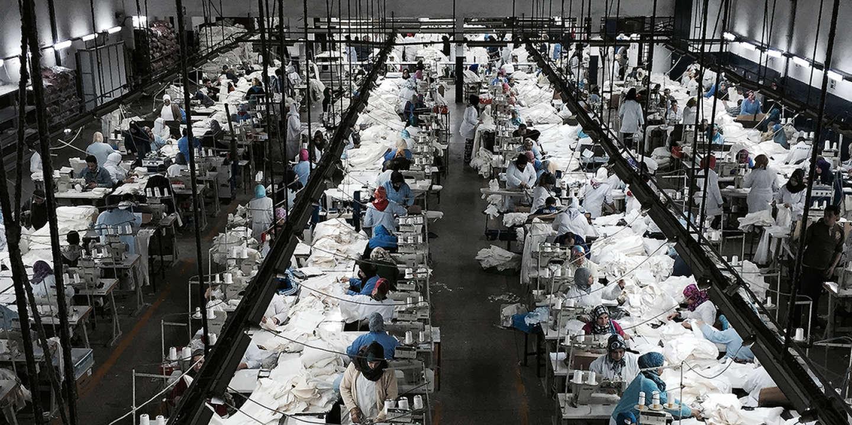 Cette usine marocaine fournit des vêtements en denim à Inditex.