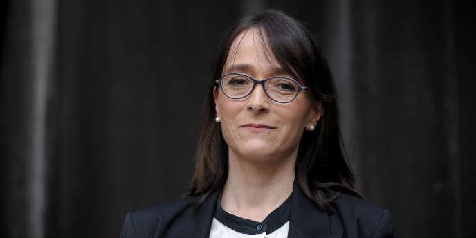Delphine Ernotte, le 17 mars, à Paris.