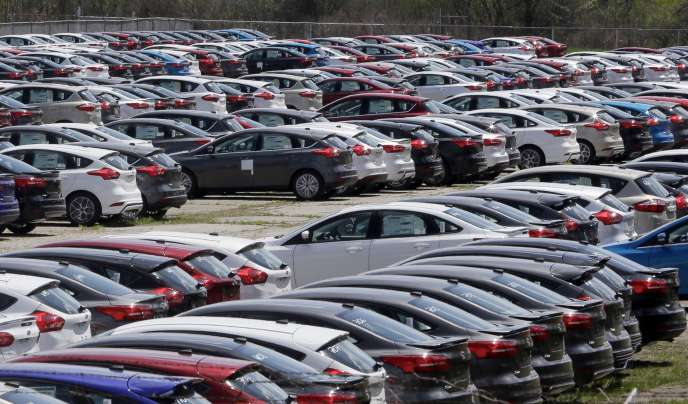 Ford a finalement renoncé à construire une nouvelle usine au Mexique pour fabriquer ses Ford Focus (ici un lot prêt à être commercialisé, dans le Michigan).