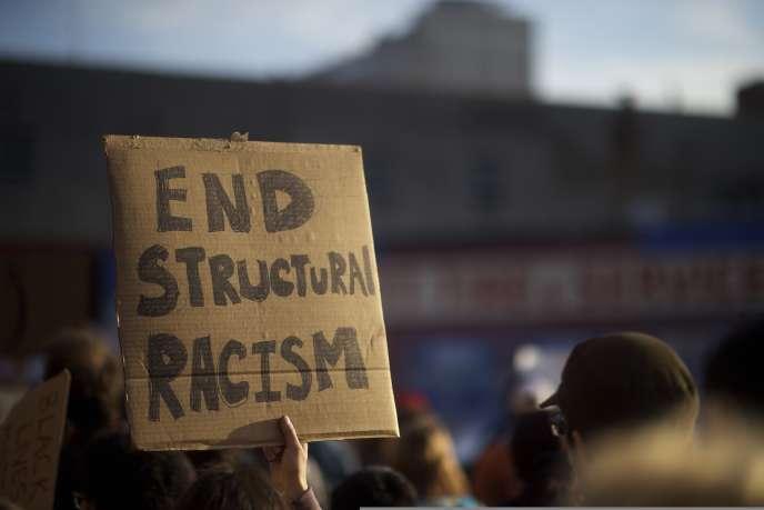 Manifestation à Philadelphie, le 30 avril.