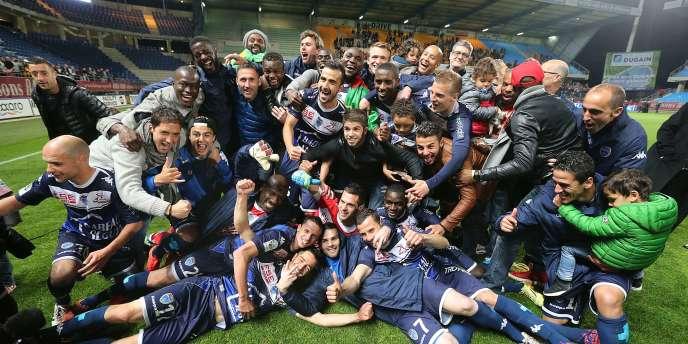 Troyes a été sacré champion de Ligue 2 samedi 2 mai. Les hommes de Jean-Marc Furlan, avaient acté leur retour parmi l'élite dès le 28 avril (ici sur la photo).
