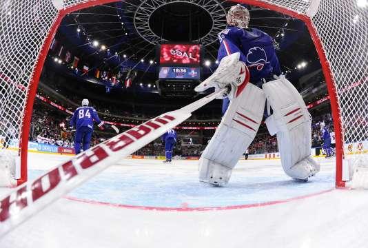 Cristobal Huet sera l'un des atouts maîtres de l'équipe de France de hockey sur glace.