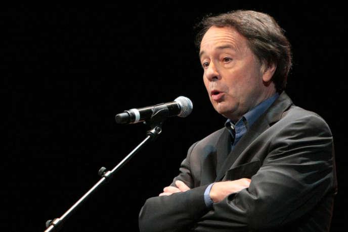 L'historien Jean-Noël Jeanneney au Théâtre du Châtelet à Paris, le 15 septembre 2008.
