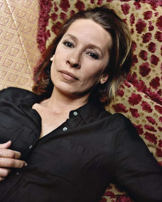 L'actrice et réalisatrice Emmanuelle Bercot.