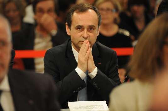 Robert Ménard, le 4 avril 2014 à Béziers.