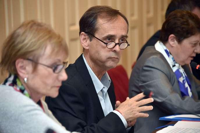 Robert Ménard, maire de Béziers, en mai 2015.