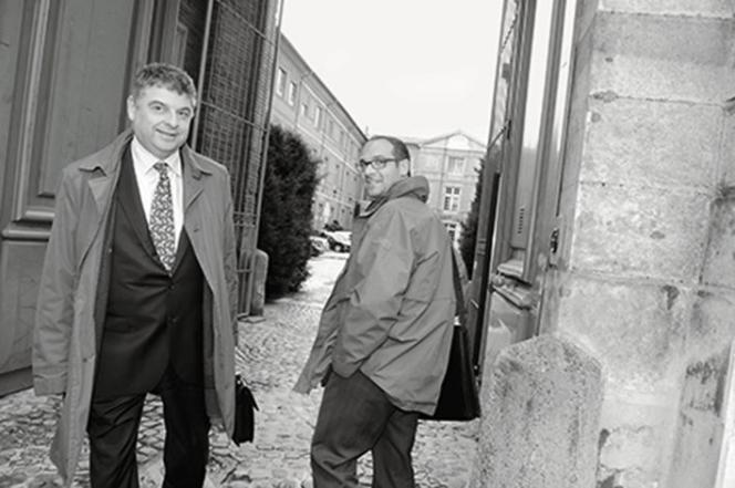 Pour créer ses studios de cinéma, Bruno Granja (à droite) avait d'abord jeté son dévolu sur l'ancienne base aérienne militaire de Francazal, à la sortie de Toulouse. Mais  le projet n'avait pas abouti.