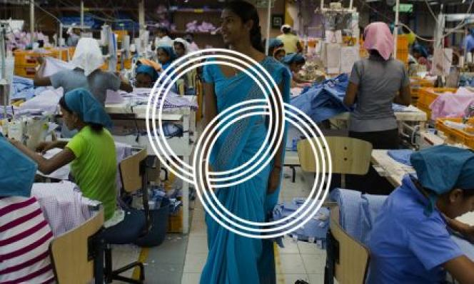 Une usine textile au Bangladesh.