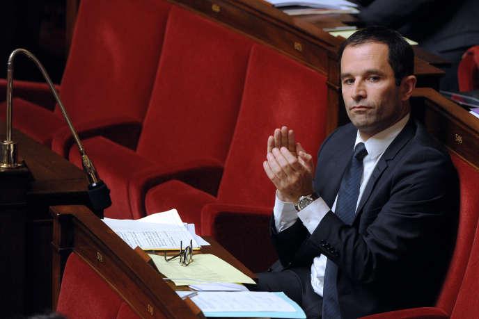 L'ancien ministre socialiste Benoît Hamon a annoncé sa candidature à la primaire à gauche, mardi 16 août.