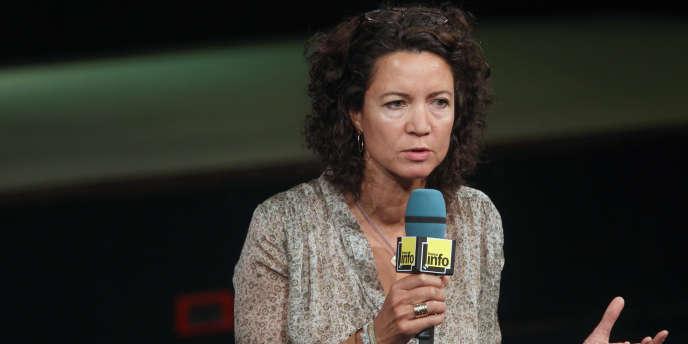 Marie-Eve Malouines en 2011.