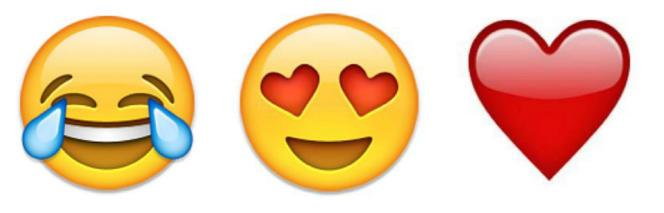 L'emoji qui pleure divise plus les utilisateurs que celui avec des cœurs à la place des yeux.