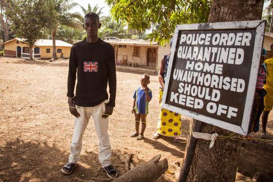 En Sierra Leone, enfévrier.