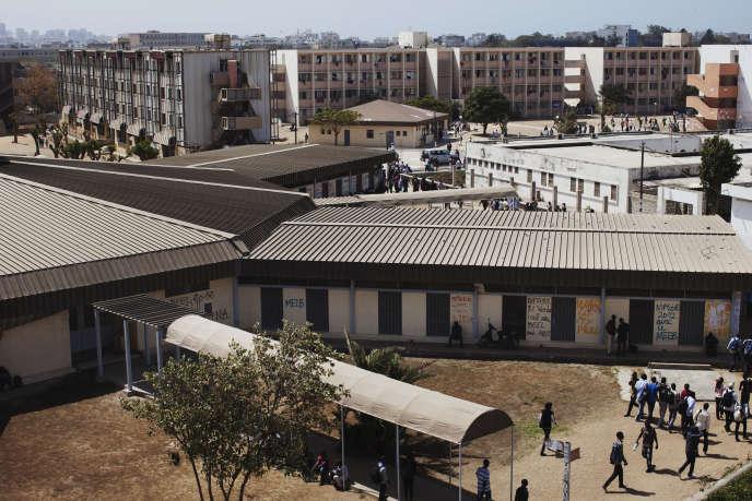 Le campus de l'université Cheikh Anta Diop University à Dakar.
