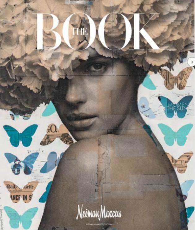 """The Book, """"magalogue"""" (croisement du catalogue et du mazazine) de la chaîne américaine de boutiques de luxe Neiman Marcus, est envoyé sept fois par an à un peu plus d'un million de clients."""