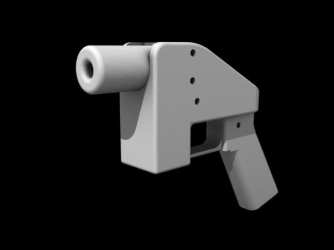 «The Liberator» est considéré comme la première arme imprimable en3D.