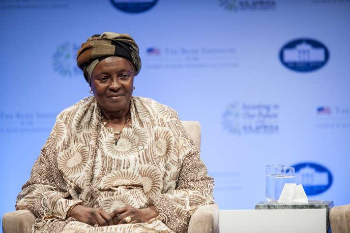 Aicha Bah Diallo, le 6 août 2014 à Washington.
