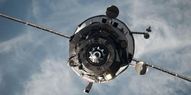 Un cargo spatial russe