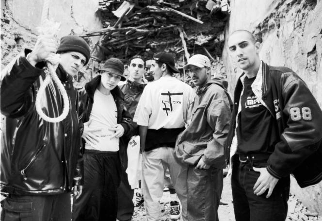 La Fonky Family, groupe de rap de la région marseillaise.