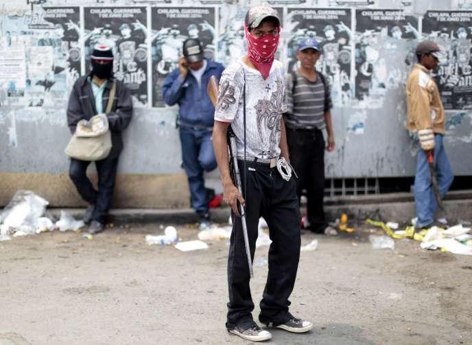 Le 9 mai, environ 300 hommes masqués et armés, liés au cartel de Lors Ardillos, ont débarqué dans la ville de Chilapa, dans l'Etat de Guerrero (sud-ouest du Mexique).