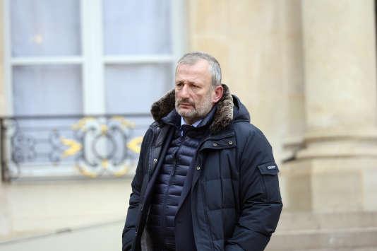 Le député (PS) du Val-d'Oise et maire de Sarcelles François Pupponi.