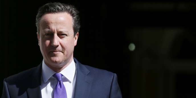 Le premier ministre britannique David Cameron, le 11 mai à Londres.