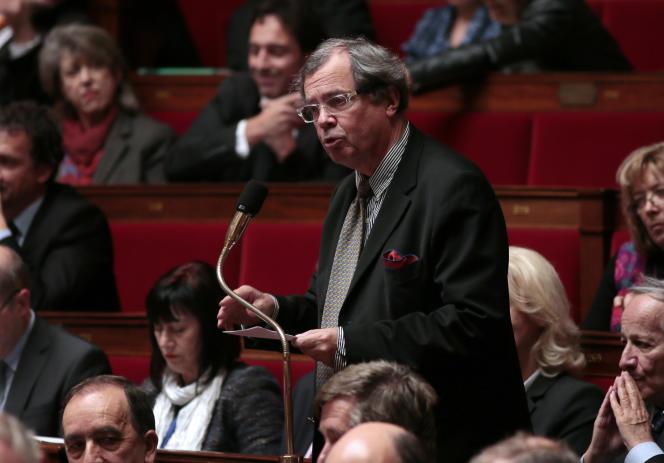 Le député du Calvados Alain Tourret, le 5 novembre 2013.